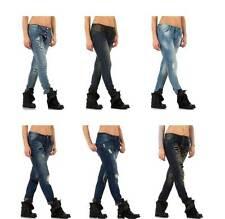 Stonewashed L32 Damen-Jeans mit mittlerer Bundhöhe