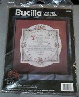 "Bucilla Counted Cross-Stitch Kit ""My Child"" Designed by Gayle Nelson 15"" x 15"""
