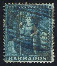Numeral Cancellation Barbadian Stamps (Pre-1966)