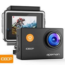 APEMAN Sports Action Camera 1080P HD 12MP Waterproof Cam 170 Ultra Wide-Angle