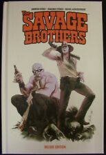 SAVAGE BROTHERS BOOM HARDCOVER DELUXE COMIC 1ST PRINT COSBY STOKES 2014 NM NEW!