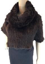 Hot Sale Rabbit Fur Shawl Spring Women Poncho Knitted Cape 2019 Soft Snood61071b