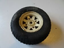 TAMIYA SUBARU BRAT FORD F150 RANGER XLT SRB WHITE WHEEL AND TIRE 1/10 SCALE