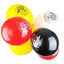 "10 X Pirate Fun Party Decoration 12"" Latex Happy Birthday Balloons"