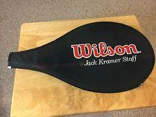 Wilson Pro Staff Jack Kramer St. Vincent Tennis Racket Bag Cover Excellent Minty