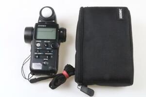 SEKONIC Digital Master L-758D Belichtungsmesser - SNr: 108922