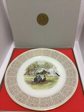 Confederate Camp, Lenox White House Of The Confederacy Collector Plate