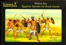Caesar Miniatures 1/72 EGYPTIAN SHERDEN THE ROYAL GUARDS Figure Set