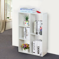 Cube 5Tier Wooden office Bookcase Shelving Display Storage Shelf Cabinet  table