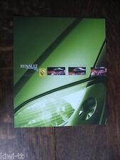Renault Scenic RX4 Prospekt / Brochure / Depliant, D, 3.2001