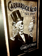 carbarlick acid two step  in 3-D - Poster size 11x17