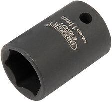 Draper Expert 11mm 0.6cm Entrada Cuadrada Alta Torsión Llave de Vaso Impacto 6