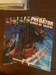Predator: Cold War #1 - 4 (1991, Dark Horse) Complete Set NMs ~9.4s