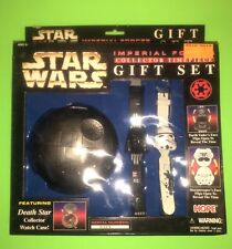 Imperial Forces Collector Timepiece Gift Set Darth Vadar & Stormtrooper! New!