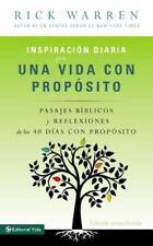 Inspiración Diaria para una Vida con Propósito : Versículos Bíblicos y...