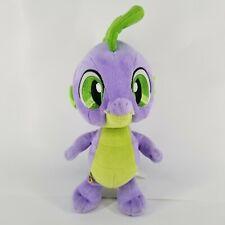 "SPIKE Build A Bear My Little Pony Baby DRAGON Purple Green 12"" Plush 2013 Toy"