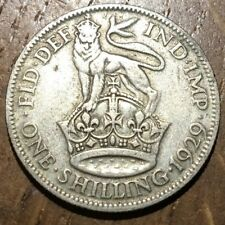 PIECE DE 1 SHILLING ARGENT 1926 DU ROYAUME UNI (506)