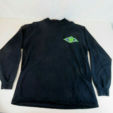 1990's Arctic Cat Zl Large Black Long Sleeve Shirt - Vtg Single Stitch T-Shirt