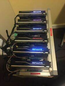 3x GPU Crypto Currency Rig for Mining INCLUDES GPU's, and FREE Install Support!!