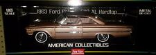 1963 Ford Galaxie 500/XL Hardtop Diecast Car 1:18 Sun Star 11 inch Beige SS1467