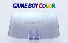 Cache Piles GameBoy Color violet transparent / Battery Cover clear purple GBC