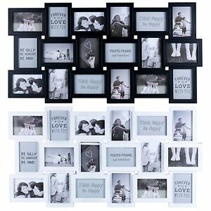 Large 18 Photos Multi Picture Wall Frame Memories Collage Aperture decoration