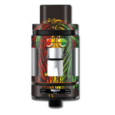 Skin Decal for Smok Mini TFV8 Big Baby Beast Tank Vape Mod / Rasta Dread Lion I