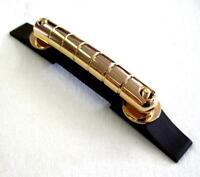 Gretsch® Rocking Bar Gold Guitar Bridge~Ebony Base~G6122~0081075000~Brand New