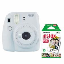 Fuji Fujifilm Instax Mini 9 Instant Camera with 10 Shots - Smokey White