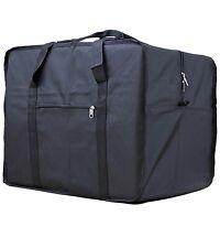 12 Wholesale Maletín Viaje cuadrado bag travel black 70 pounds bolso X Cantidad