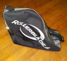 Rollerblade Inline Skates Carry Shoulder Bag Black & Silver With Strap & Handle