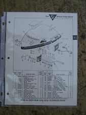 1964 Johnson 9 1/2 HP Outboard MQ MQL Parts Catalog MORE BOAT ITEMS  IN STORE  L