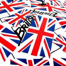 British Flag Bandana Cotton Men Woman Scarve Head Neck Wrap Biker