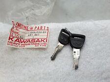New NOS OEM Genuine Kawasaki Key #909 H2 S1 S3 KH400 KH250 27308-055-09