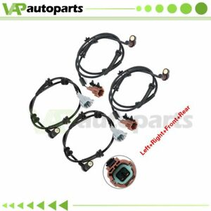 Fits 05-07 Fits Nissan Armada 4 Front And Rear ABS Wheel Speed Sensor Assembly