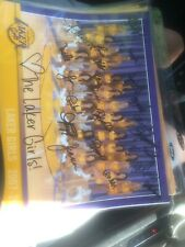 LOS ANGELES LAKER GIRLS CHEERLEADERS SIGNED 2007 08 PHOTO SIGNED BY WHOLE SQUAD4