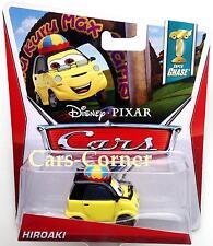 Disney Pixar Cars 2 Hiroaki - Chase Car 2013 - WGP Tokyo - Rarität NEU & OVP