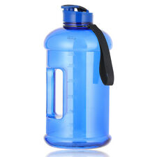 Big Water Bottle for Gym Fitness Workout Reusable Sport Half Gallon Water Bottle