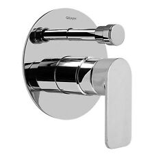 Graff G-7080-LM42S-PN-T - Graff Sento Trim Plate with Handle In Polished Nickel
