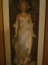 Franklin Mint Marilyn Monroe portrait vinyl doll Movie Debut