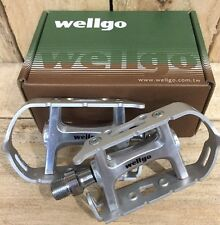 Wellgo R104B Road Touring Pedal Sealed Bearings Classic L'eroica pedals