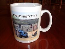 Norfolk China Ceramic Mug FORD COUNTY 1174 By SUE PODBERY