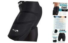Protective Padded Shorts for Snowboard,Skate and Ski,3D Protection for Large