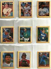 1984 Fleer 126-card Star Sticker Baseball Set  Pete Rose  cal Ripken  Jim Rice