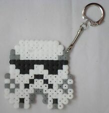 star wars Stormtrooper   porte clé Perler hama