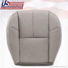 2007 - 2012 GMC Yukon Driver Side Bottom Leather Seat Cover Light Gray