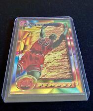 1993-94 Topps Finest Refractor #1 Michael Jordan Bulls HOF - Perfect Condition