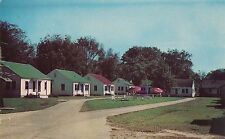 Perry Motor Court in Perry GA Postcard