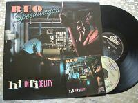 "REO Speedwagon  ""Hi Infidelity""  Vintage LP  Epic FE 36844 w/Bonus Companion CD"