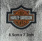 Harley VEST BIKER PATCH IRON ON SEW ON JACKET MOTORCYCLE